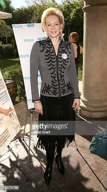 Actress Jean Smart at the More Magazine and Women In Film filmmaker luncheon at Chateau Marmont on December 10 2007 in West Hollywood California