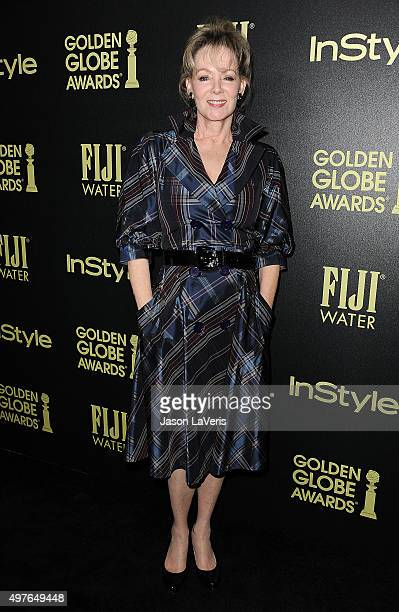 Actress Jean Smart attends the Hollywood Foreign Press Association and InStyle's celebration of the 2016 Golden Globe award season at Ysabel on...