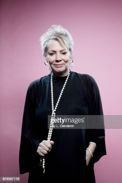 Actress Jean Smart from the television series Legion is photographed in the LA Times photo studio at ComicCon 2017 in San Diego CA on July 20 2017...