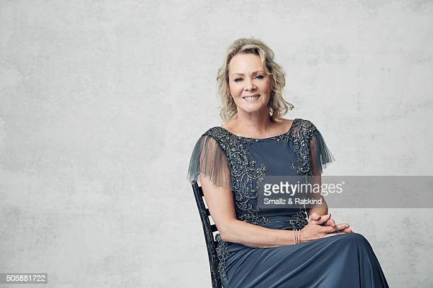Actress Jean Smart poses for a portrait during the 21st Annual Critics' Choice Awards at Barker Hangar on January 17 2016 in Santa Monica California