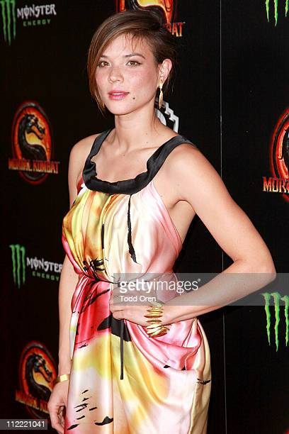 "Actress Jeananne Goossen attends the ""Mortal Kombat Legacy"" digital series premiere celebration at Saint Felix II on April 14, 2011 in Hollywood,..."