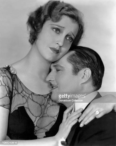 Actress Jeanette MacDonald and Edmund Lowe in a scene from the movie Don't Bet on Women