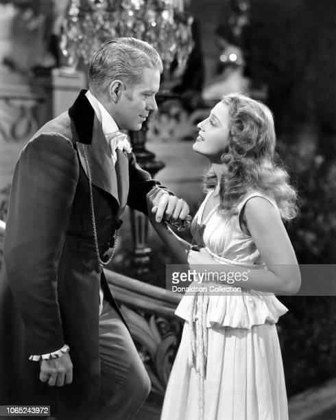 Actress Jeanette MacDonald and Nelson Eddy in a scene from the movie I Married an Angel
