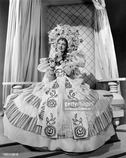 Actress Jeanette MacDonald in a scene from the movie Bitter Sweet