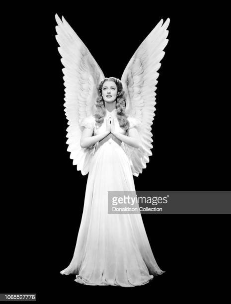 Actress Jeanette MacDonald in a scene from the movie I Married an Angel