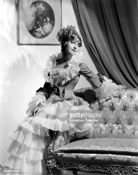 Actress Jeanette MacDonald in a scene from the movie The Merry Widow