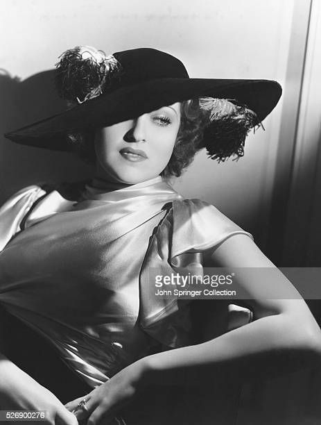 Actress Jeanette MacDonald