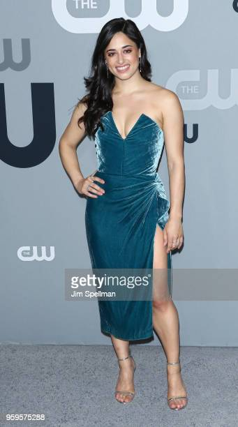 Actress Jeanine Mason attends the 2018 CW Network Upfront at The London Hotel on May 17 2018 in New York City