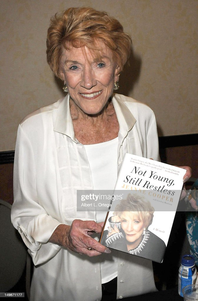 Actress Jeanne Cooper participates in The Hollywood Show held at Burbank Airport Marriott Hotel & Convention Center on August 5, 2012 in Burbank, California.
