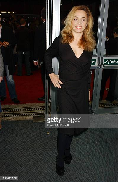Actress Jeanne Marine arrives at the Premiere screening of the new fourdisc DVD featuring 10 hours of footage from the historic charity concert Live...