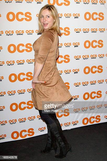 Actress Jeanne Savary attends the 'QI' Premiere at Forum Des Images on April 4 2013 in Paris France