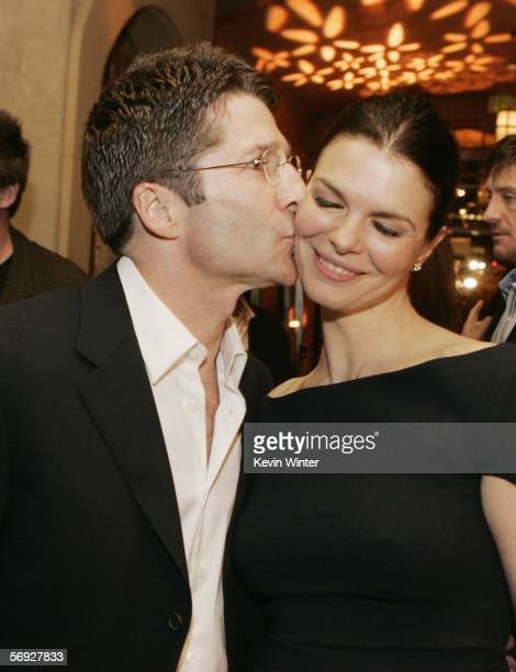 Actress Jeanne Tripplehorn and Leland Orser arrive at the afterparty for the premiere of HBO's Original Series Big Love at the Hollywood Roosevelt...