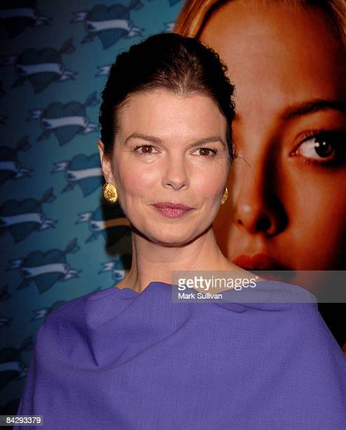 Actress Jeanne Tripplehorn arrives at the 3rd season Los Angeles premiere of Big Love at The Cinerama Dome on January 14 2009 in Hollywood California