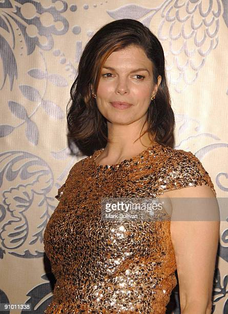 Actress Jeanne Tripplehorn arrives at the HBO Post Emmy Awards Reception at the Pacific Design Center on September 20 2009 in West Hollywood...