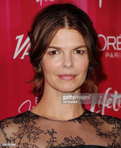 Actress Jeanne Tripplehorn arrives at Variety's 3rd Annual Power Of Women Luncheon at the Beverly Wilshire Four Seasons Hotel on September 23, 2011...