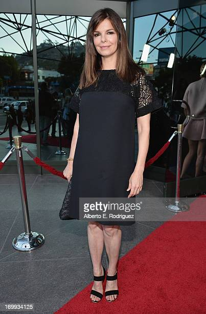 "Actress Jeanne Tripplehorn arrives to the Los Angeles premiere of A24's ""The Bling Ring"" at the Directors Guild Theater on June 4, 2013 in Los..."