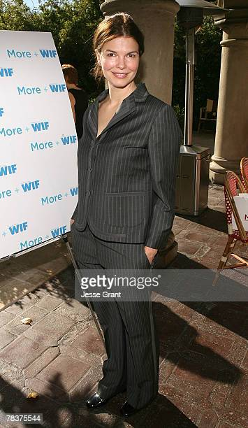 Actress Jeanne Tripplehorn at the More Magazine and Women In Film filmmaker luncheon at Chateau Marmont on December 10 2007 in West Hollywood...