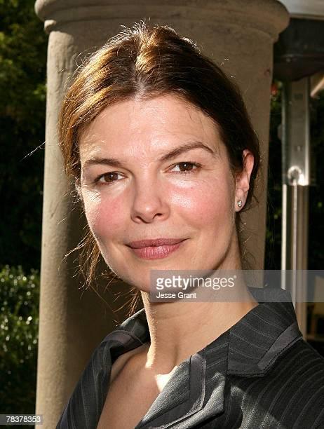 Actress Jeanne Tripplehorn at the MORE Magazine Celebrate Winners of Women In Film luncheon at Chateau Marmont on December 10, 2007 in West...