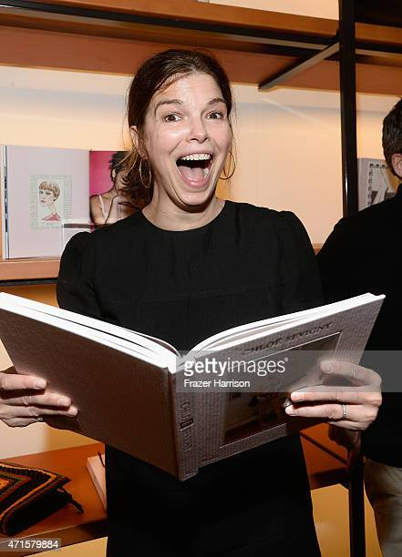 Actress Jeanne Tripplehorn attends BookMarc Celebrates Chloe Sevigny's New Book Chloe Sevigny By Rizzoli at BookMarc on April 29 2015 in Los Angeles...