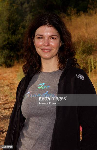 Actress Jeanne Tripplehorn poses at the 8th Annual Expedition Inspiration TakeAHike at Paramount Ranch in the Santa Monica Mountains National...