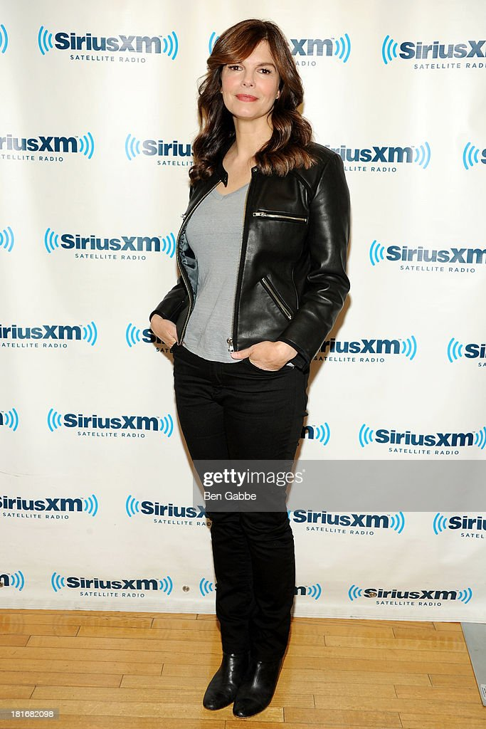 Actress Jeanne Tripplehorn visits SiriusXM Studios on September 23, 2013 in New York City.