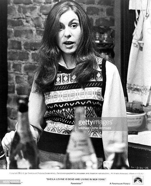 "Actress Jeannie Berlin on set of the movie ""Sheila Levine Is Dead and Living in New York"" , circa 1975."