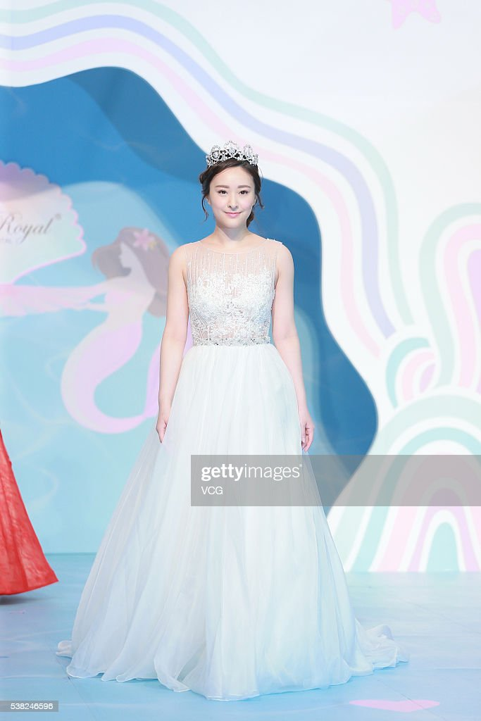 Jeannie Chan Attends Hong Kong Wedding Fair Photos and Images ...