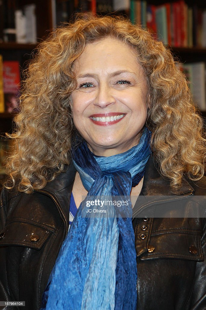 Actress Jeannie Elias attends a live Interactive reading event of 'ELFBOT' inside Barnes & Noble at The Americana at Brand on December 7, 2012 in Glendale, California.
