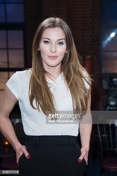 Actress Jeannine Michaelsen attends the 'Koelner Treff' TV Show at the WDR Studio on May 4, 2016 in Cologne, Germany.