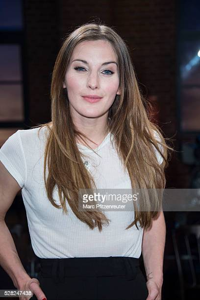 Actress Jeannine Michaelsen attends the 'Koelner Treff' TV Show at the WDR Studio on May 4 2016 in Cologne Germany