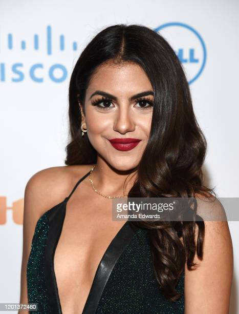 Actress Jearnest Corchado arrives at the 11th Annual Lumiere Awards at the Stephen J Ross Theatre on The Warner Bros Lot on January 22 2020 in...