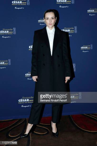 Actress Jehnny Beth nominated for the Most Promising Actress 'Cesar 2019' Award for the film 'UN AMOUR IMPOSSIBLE' attends the Cesar 2019 Nominee...