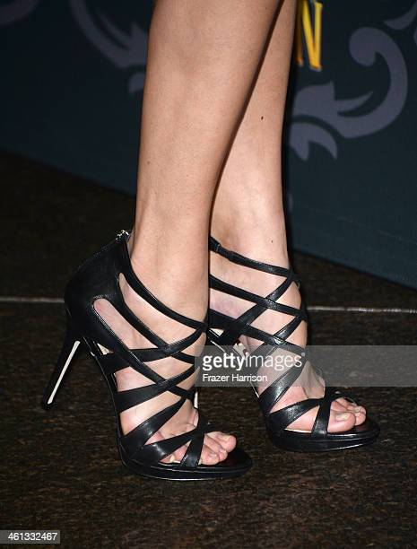 Actress Jelly Howie attends the screening of IFC's The Spoils Of Babylon at DGA Theater on January 7 2014 in Los Angeles California