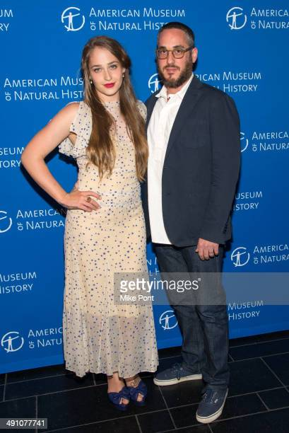 Actress Jemima Kirke and Michael Mosberg attend the 2014 American Museum of Natural History 'Star Studded' Dance Benefit at American Museum of...