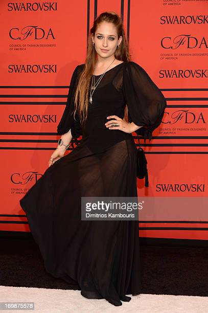 Actress Jemima Kirke attends 2013 CFDA Fashion Awards at Alice Tully Hall on June 3 2013 in New York City