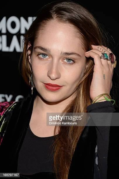 Actress Jemima Kirke attends Fox Searchlight Pictures' premiere of Trance hosted by the Cinema Society Montblanc at SVA Theater on April 2 2013 in...
