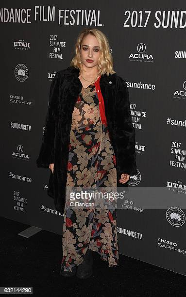 Actress Jemima Kirke attends 'The Little Hours' premiere during day 1 of the 2017 Sundance Film Festival at Library Center Theater on January 19 2017...