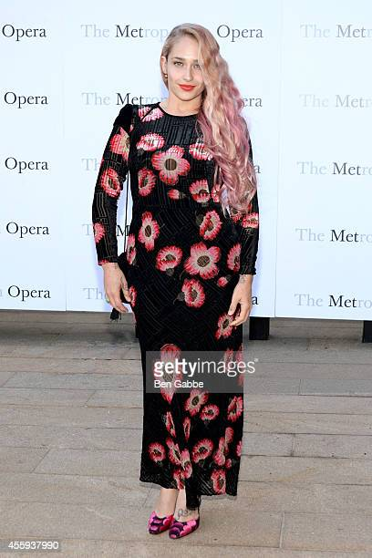Actress Jemima Kirke attends the Metropolitan Opera Season Opening at The Metropolitan Opera House on September 22 2014 in New York City