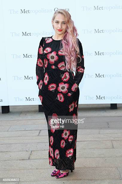 Actress Jemima Kirke attends the season opening of 'The Marriage of Figaro' at The Metropolitan Opera House on September 22 2014 in New York City