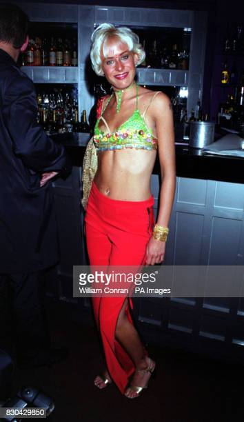 Actress Jemma Walker who plays 'Siobhan Callan' at Channel 5's Family Affairs celebrity party held at the Ten Rooms in London