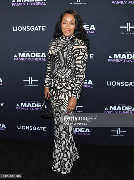 Actress Jen Harper attends the NY special screening for Tyler Perry's 'A Madea Family Funeral' at SVA Theater on February 25 2019 in New York City