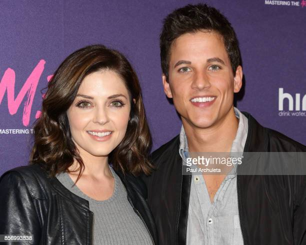 Actress Jen Lilley and Mike C Manning attend the premiere of Dark Sky Films' 'MFA' at The London West Hollywood on October 2 2017 in West Hollywood...