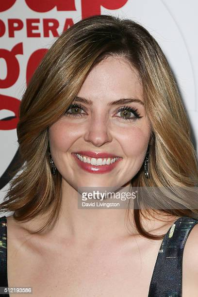 Actress Jen Lilley arrives at the 40th Anniversary of the Soap Opera Digest at The Argyle on February 24 2016 in Hollywood California