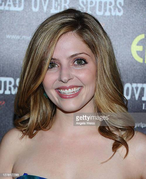 Actress Jen Lilley arrives at the world premiere of 'Head Over Spurs In Love' at Majestic Crest Theatre on March 24, 2011 in Los Angeles, California.