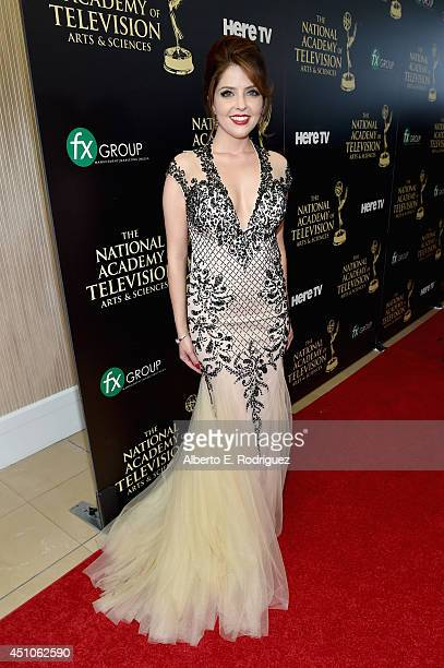 Actress Jen Lilley attends The 41st Annual Daytime Emmy Awards at The Beverly Hilton Hotel on June 22 2014 in Beverly Hills California