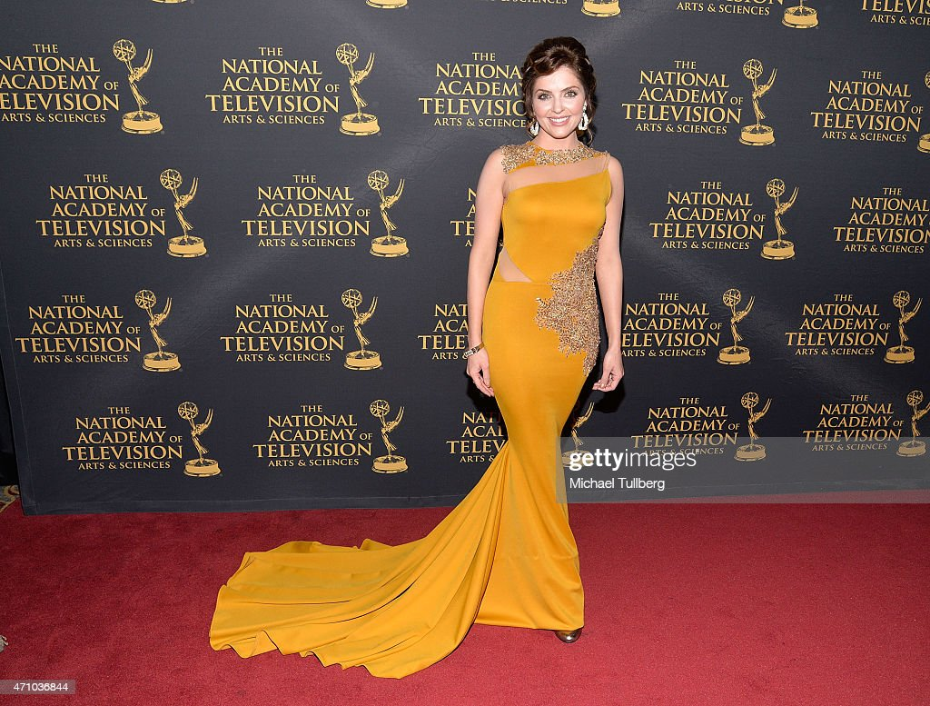 Actress Jen Lilley attends the 42nd Annual Daytime Creative Arts Emmy Awards at Universal Hilton Hotel on April 24, 2015 in Universal City, California.