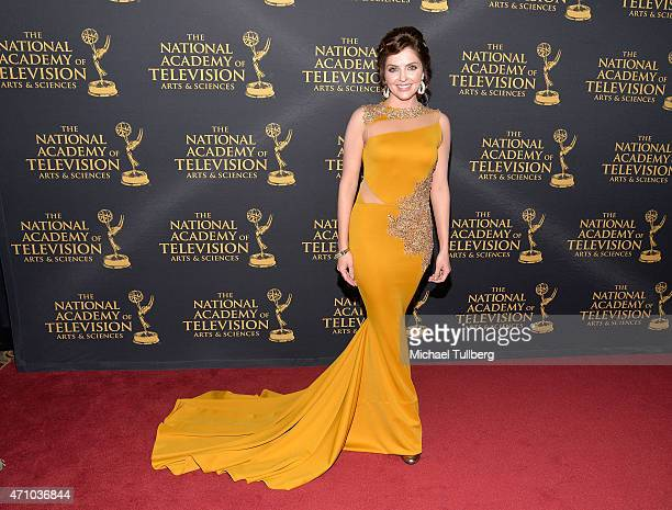 Actress Jen Lilley attends the 42nd Annual Daytime Creative Arts Emmy Awards at Universal Hilton Hotel on April 24 2015 in Universal City California