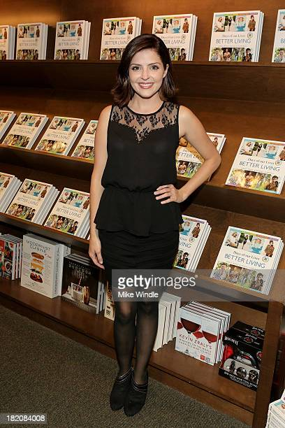 Actress Jen Lilley attends the 'Days Of Our Lives' cast member book signing for 'Days Of Our Lives Better Living Cast Secrets For A Healthier...