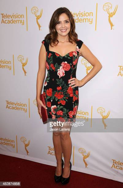 Actress Jen Lilley attends the Television Academy's performers peer group celebrating the 66th Emmy Awards at Montage Beverly Hills on July 28 2014...