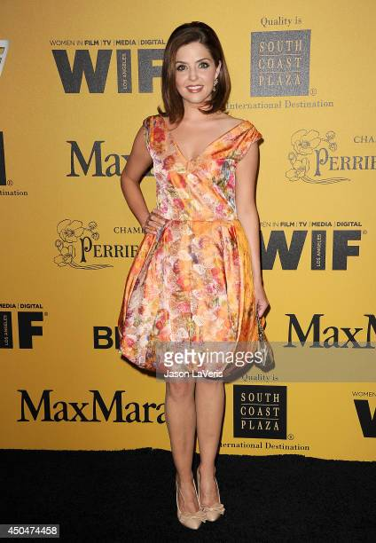 Actress Jen Lilley attends the Women In Film 2014 Crystal Lucy Awards at the Hyatt Regency Century Plaza on June 11 2014 in Century City California